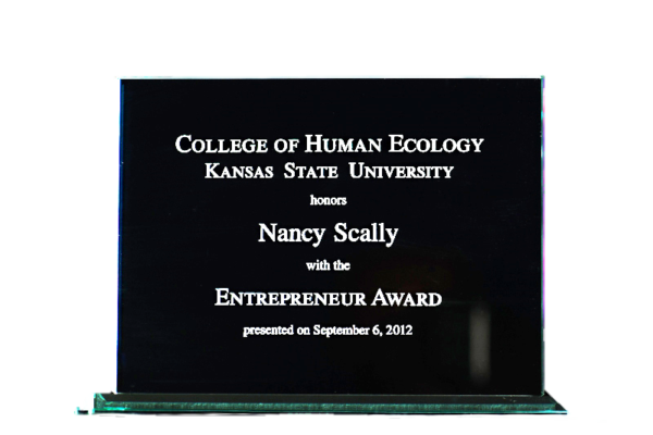Kansas State University 2012 Entrepreneur Award