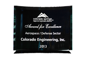 Regional Business Allliance Award for Excellence