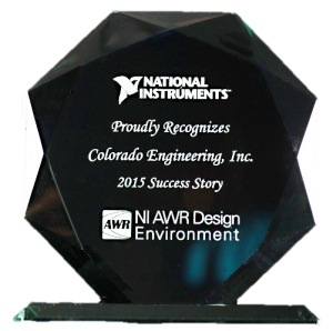 Read more about the article Colorado Engineering's 2015 Success Story Recognized by National Instruments