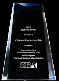 CEI's 2011 Tibbetts Award