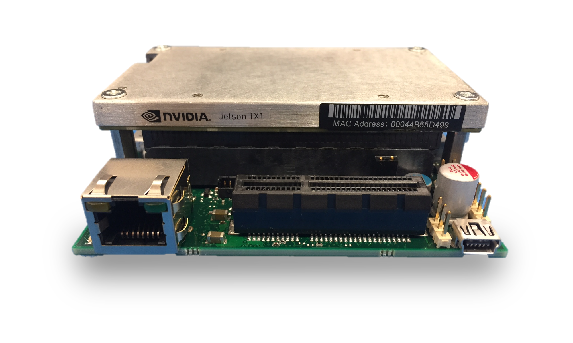 Jetson X1 and X-Carrier product page image