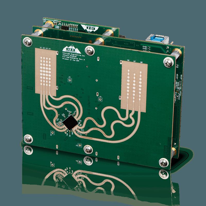 iScan Phantom – 77 GHz Modular Automotive Radar Development Kit with Turbo 1 FPGA Expansion