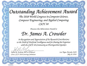 Read more about the article Dr. James A. Crowder Recognized at 2018 World Congress for Outstanding Achievement